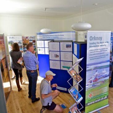 Orkney Renewable Energy Exhibition Opening