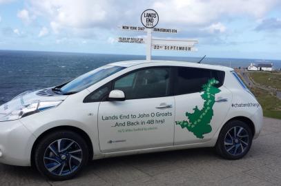 EV Challenge: John o'Groats to Lands' End in a Nissan Leaf