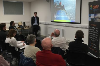 OREF Open Meeting 2nd August 2016: SSE Cable Replacement Works – Orkney