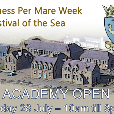 Stromness Per Mare Week Open Day – Guided tours around the Old Academy