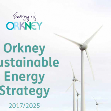 Orkney Sustainable Energy Strategy 2017/2025