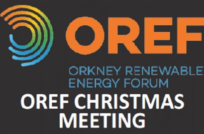 OREF Christmas Meeting 5th December 2017
