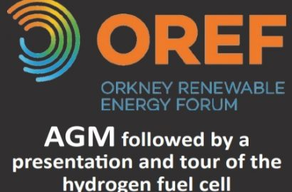 AGM and Hydrogen Presentation, Tues 5th June, 7pm, The Girnel, Orkney Sailing Club, Kirkwall
